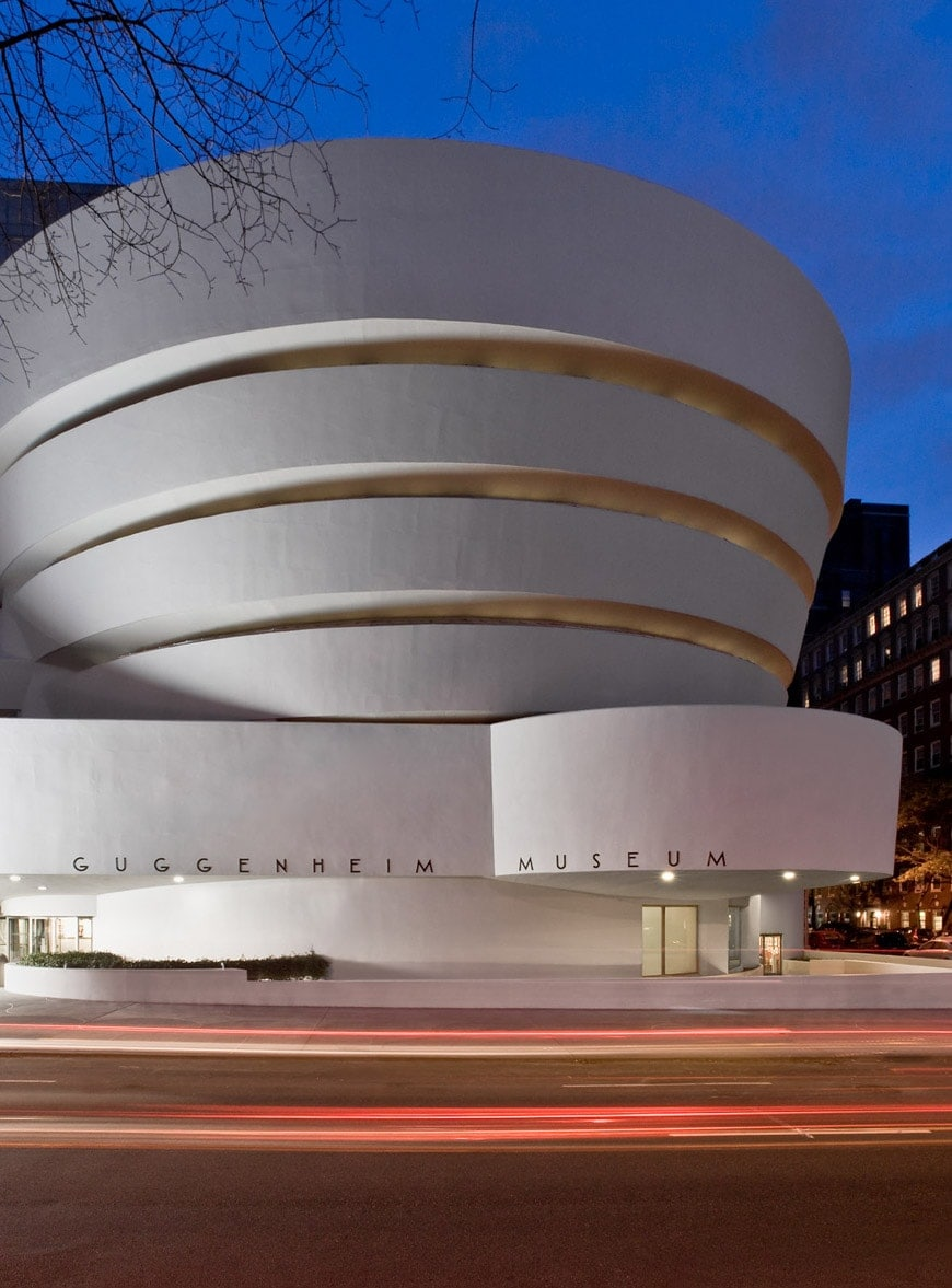 guggenheim museum new york cover