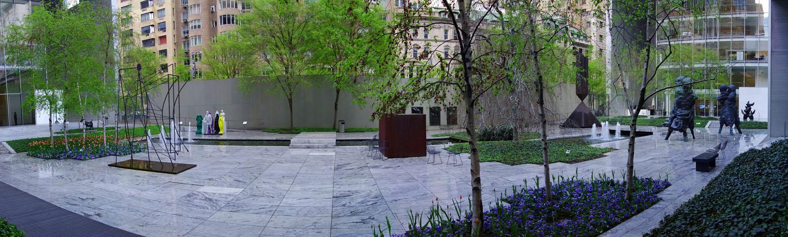 Abby Aldrich Rockefeller Sculpture Garden MoMA