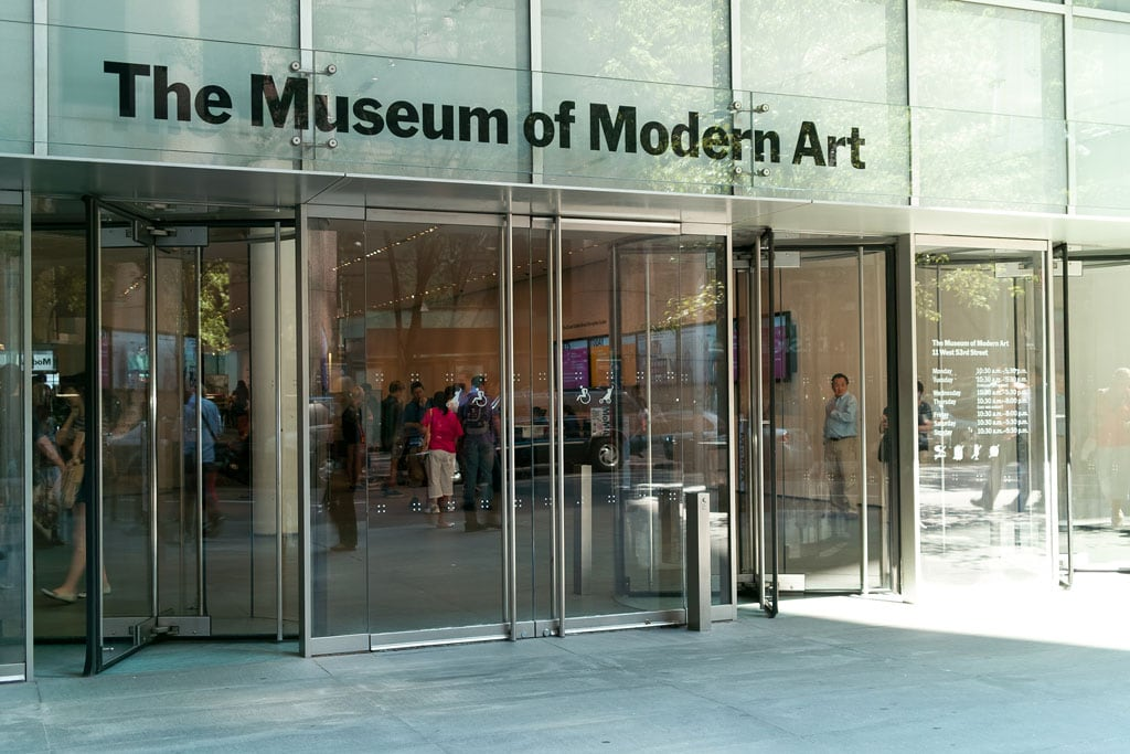 MoMA The Museum of Modern Art New York entrance