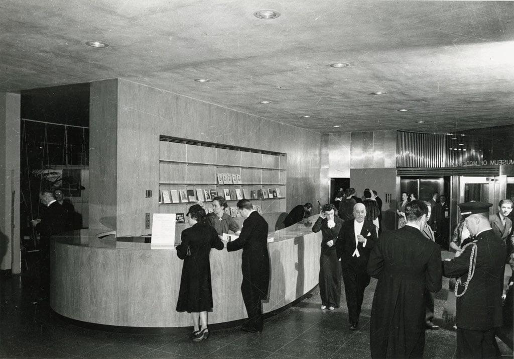 MoMA The Museum of Modern Art New York lobby 1939