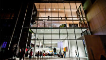 MoMA The Museum of Modern Art New York night