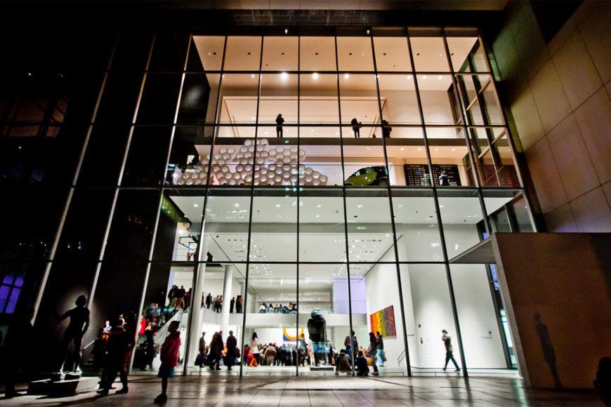 MoMA The Museum of Modern Art New York night