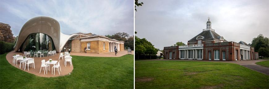 Serpentine Pavilions London