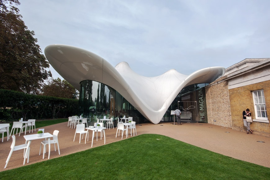 London Serpentine Sackler Gallery By Zaha Hadid Architects
