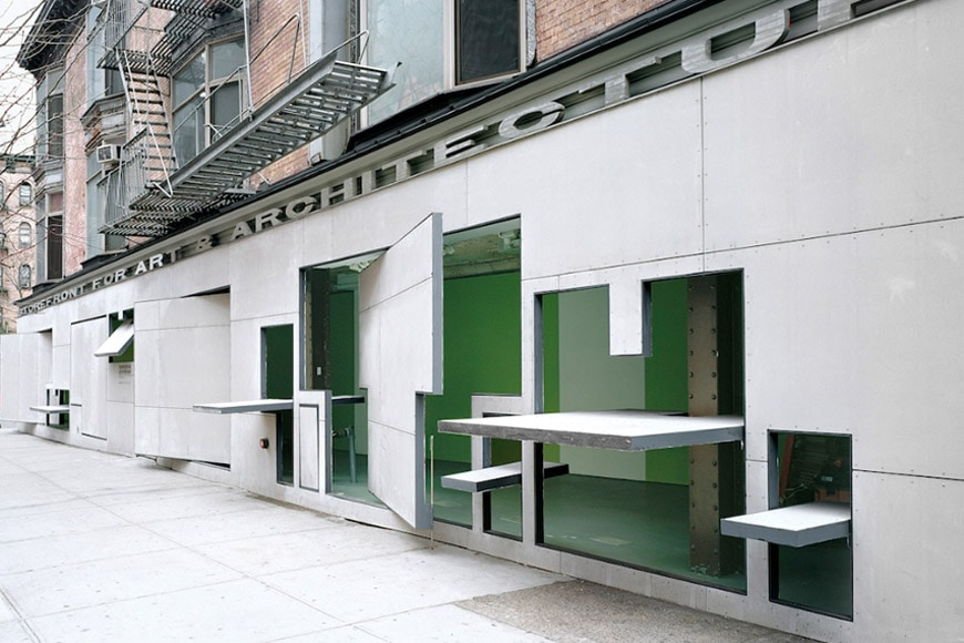 Storefront Art Architecture New York Holl Acconci 1