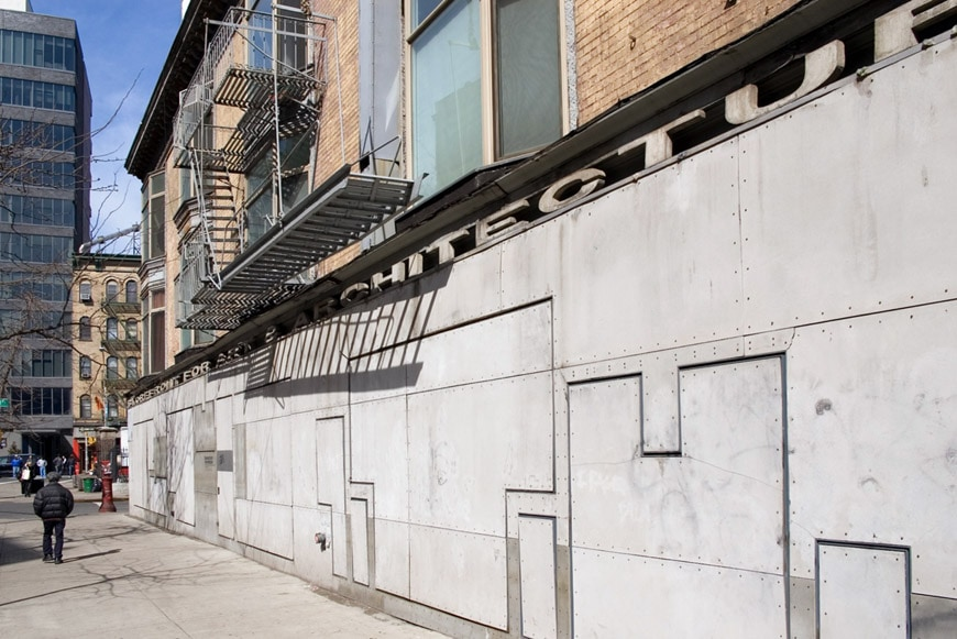 Storefront Art Architecture New York Holl Acconci 12