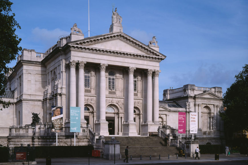 Tate britain londra museo di arte inglese inexhibit for Tate gallery di londra