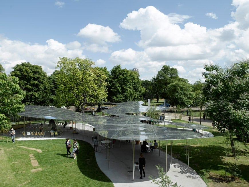 serpentine galleries pavilion Sanaa