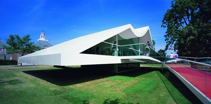 serpentine galleries pavilion oscar niemayer