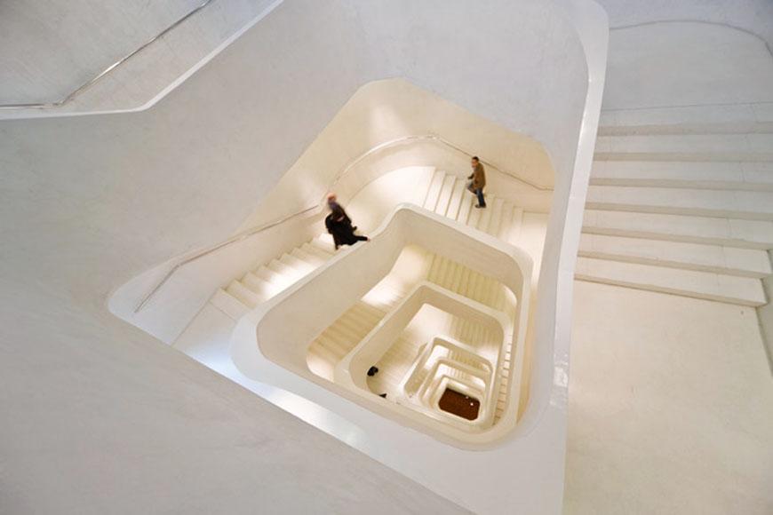 Caixaforum Madrid Herzog & de Meuron staircase
