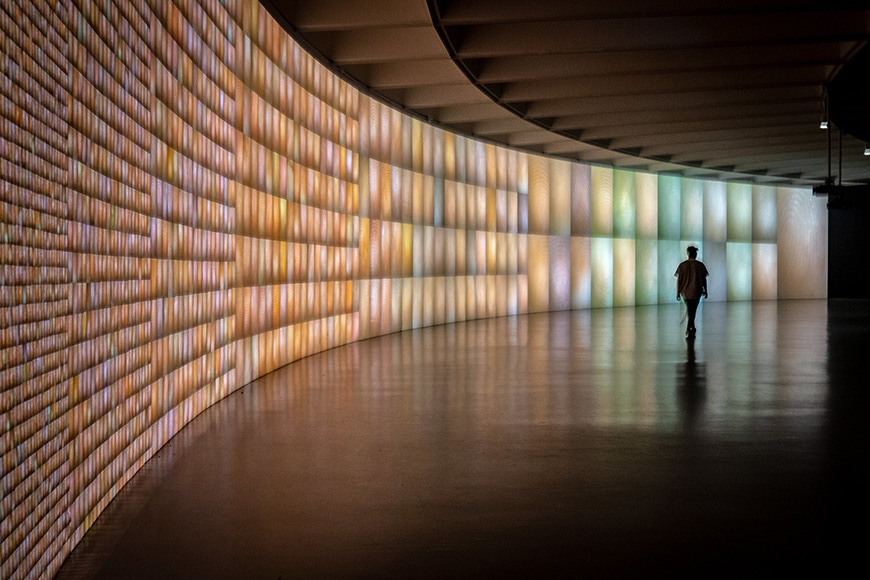 Hirshhorn Museum, Washington DC, Pulse installation, Rafael Lozano