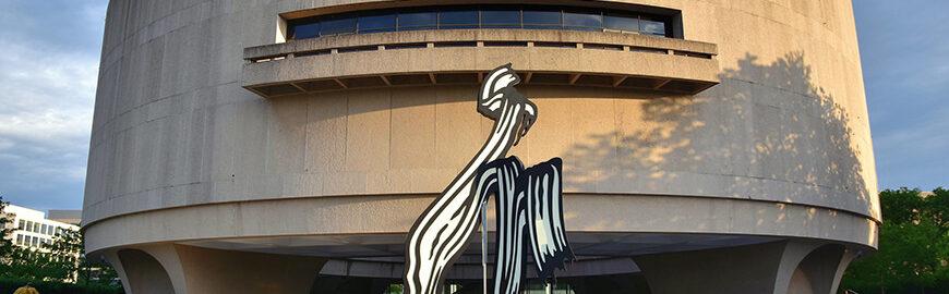 Hirshhorn Museum, Washington DC, exterior 1