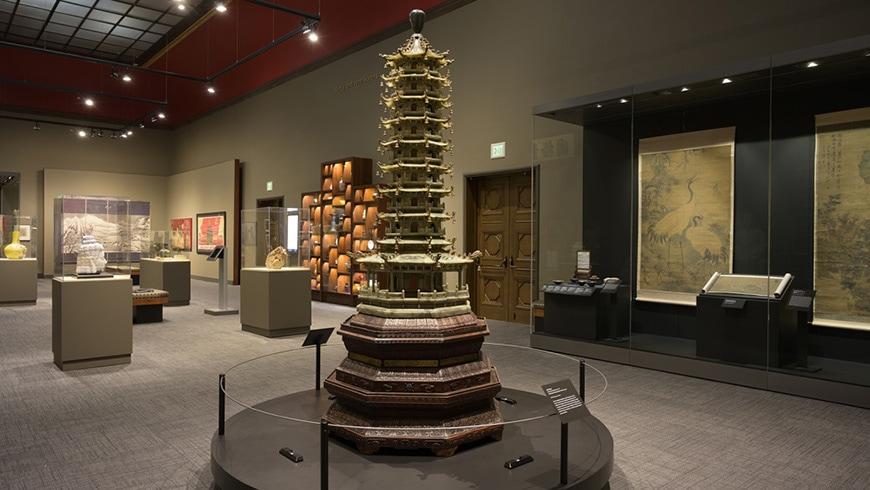 Jordan Schnitzer Museum of Art Oregon Chinese gallery