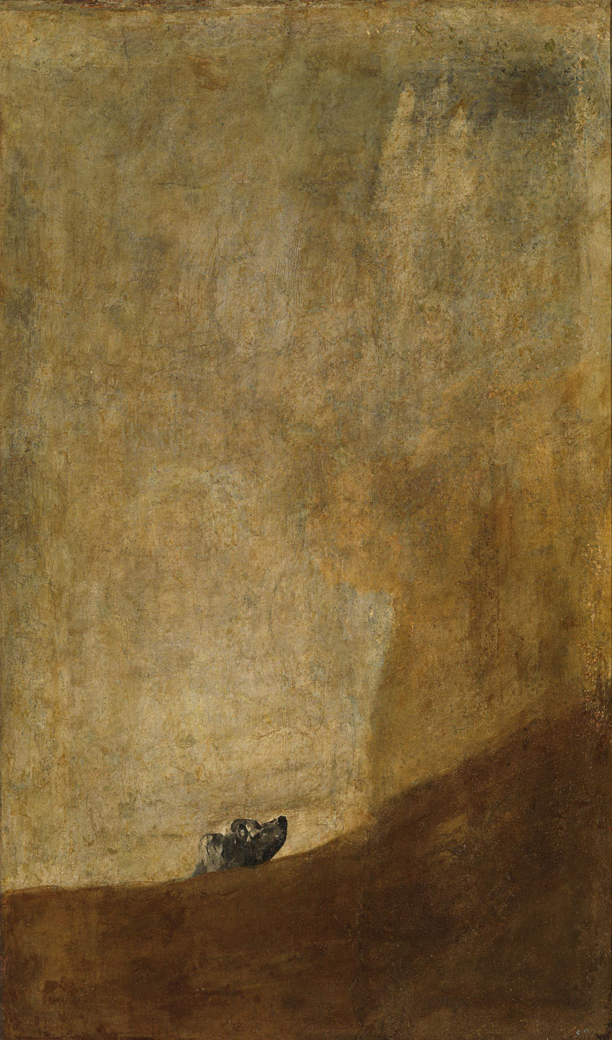 Museo Nacional del Prado Madrid dog Goya