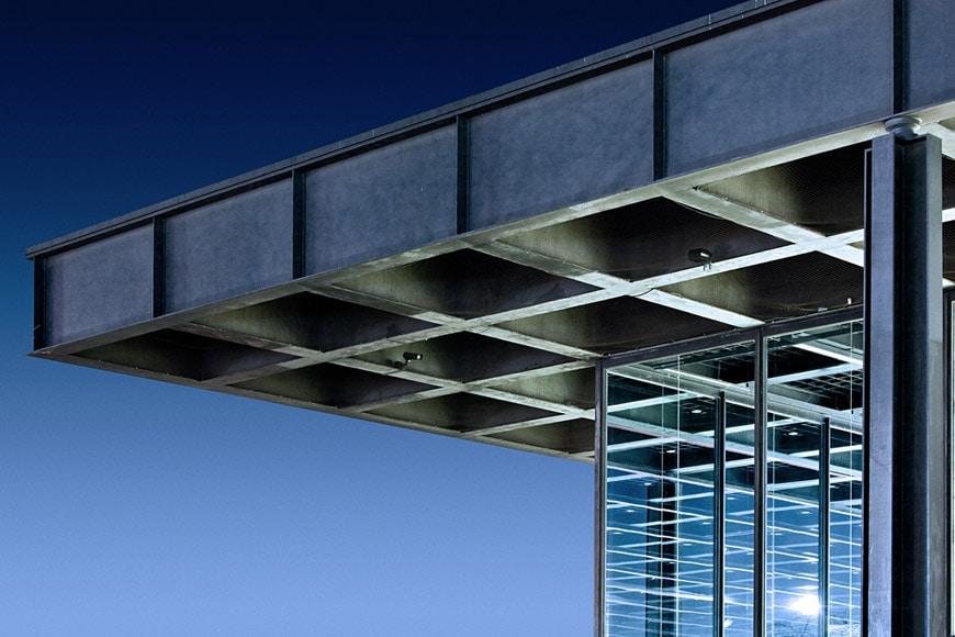 Neue Nationalgalerie Berlin Mies Van Der Rohe Building