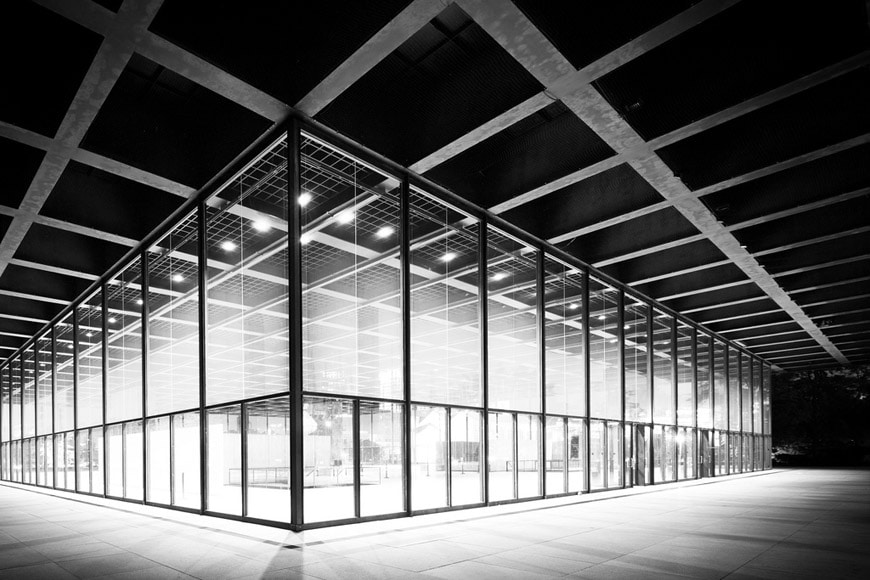 Neue Nationalgalerie Berlin Mies van der Rohe 08