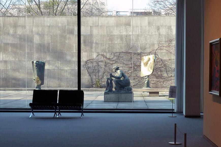 Neue Nationalgalerie Berlin Mies van der Rohe 11