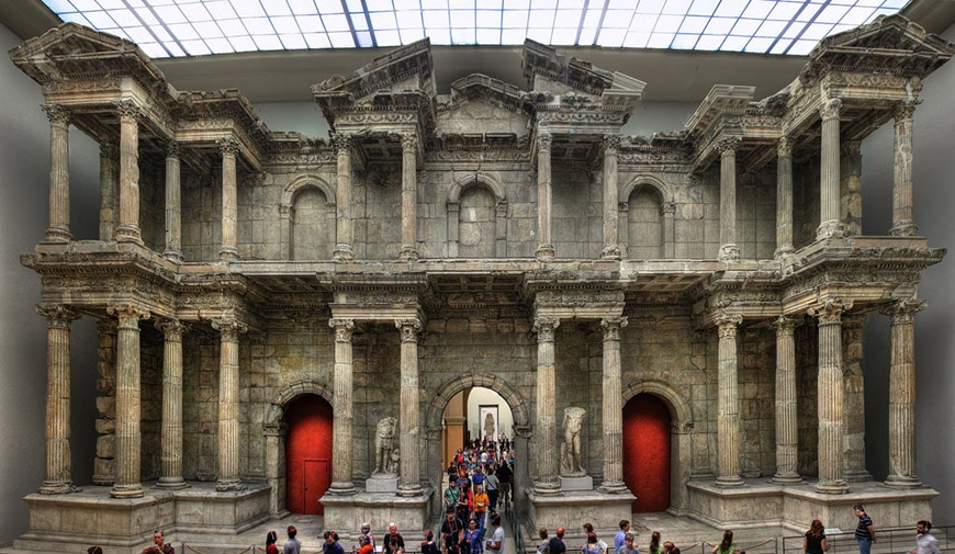 Pergamon Museum Berlin Market Gate of Miletus