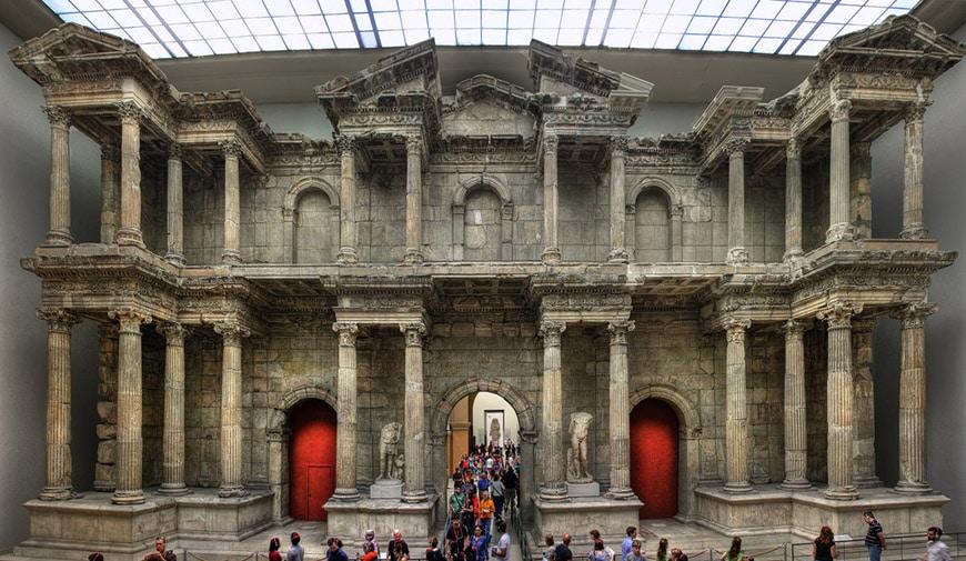 Pergamon Museum Berlin Market Gate of Miletus