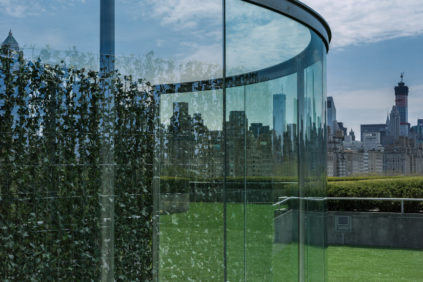 NYC | Dan Graham, MET Roof Garden Commission 2014