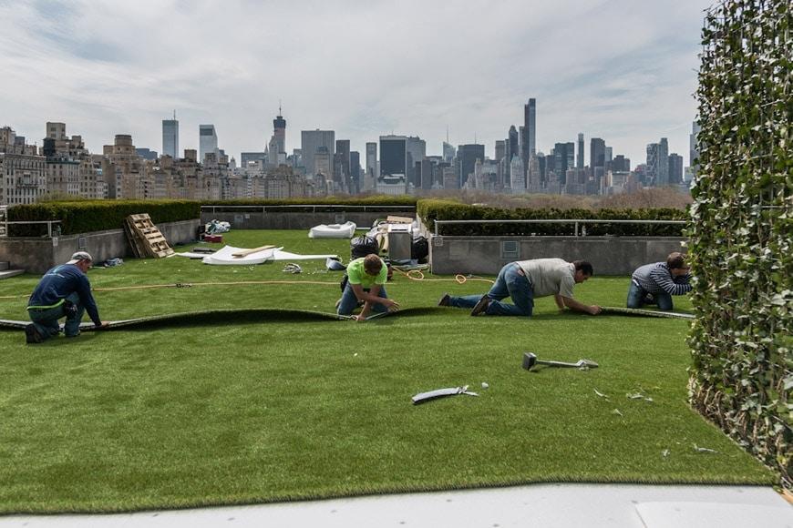Nyc Dan Graham Met Roof Garden Commission 2014