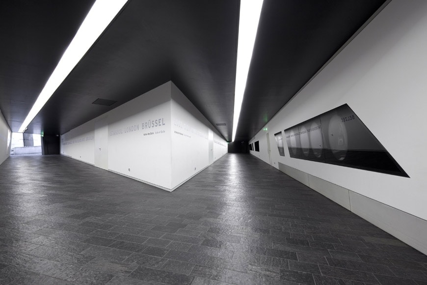 Daniel Libeskind The Jewish Museum Berlin Part 1 Inexhibit