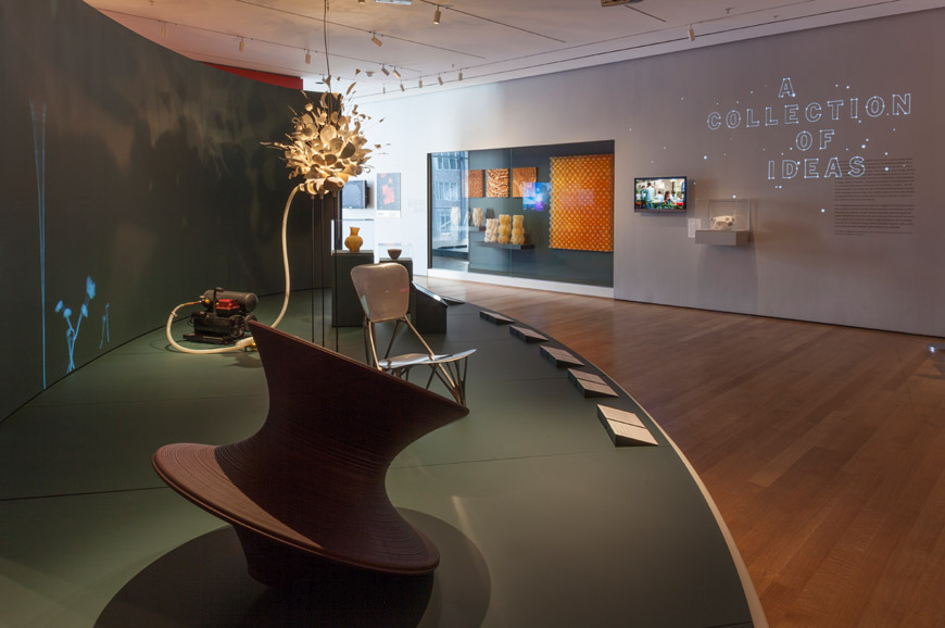 New York | A Collection of Ideas exhibition at the MoMA