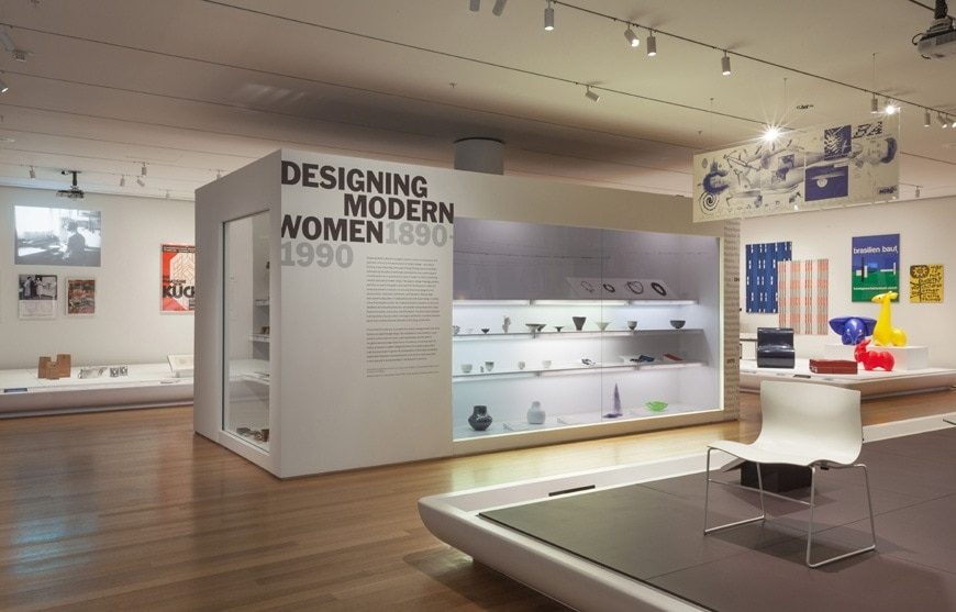 Modern Furniture Expo new york | designing modern women exhibition at moma