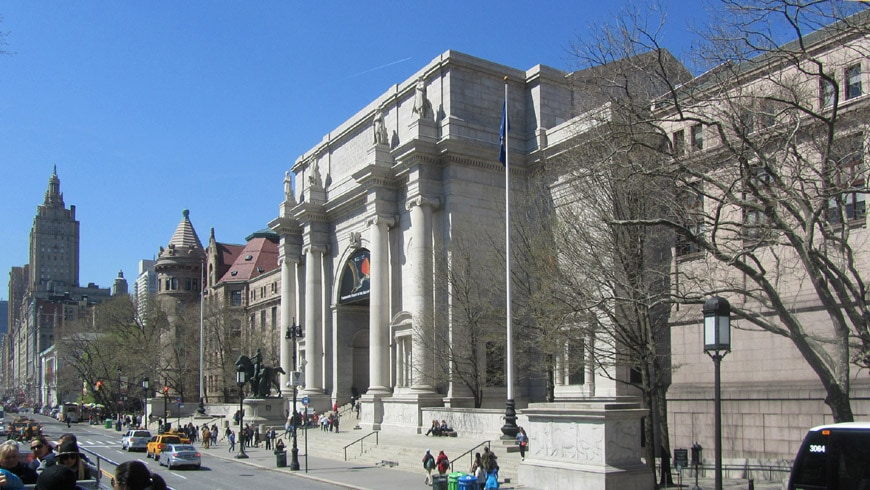 Museum Of Natural History New York Entrance