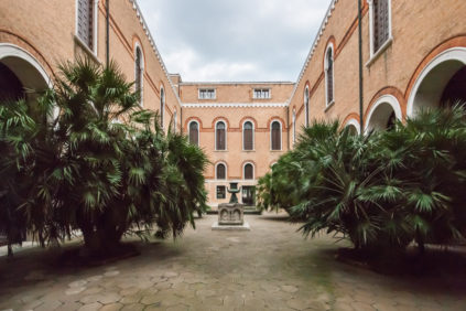 Venice Natural History Museum - the courtyard