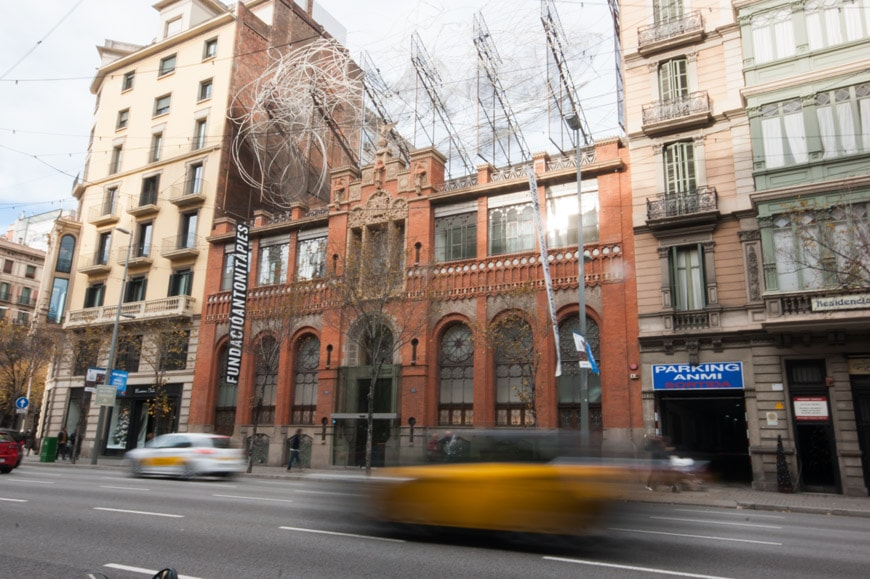 fundacio tapies barcelona