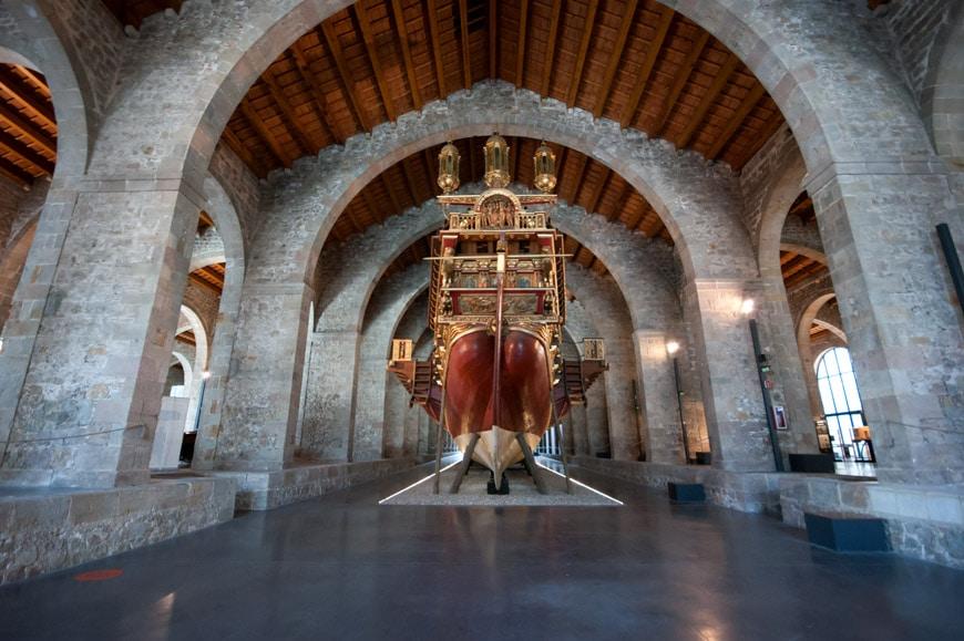 museu maritim barcelona drassanes 2