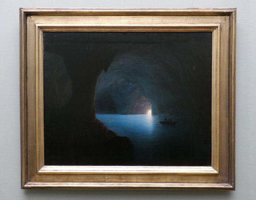 alte-nationalgalerie-carl-friedrich-seiffert-die-blaue-grotte-auf-capri