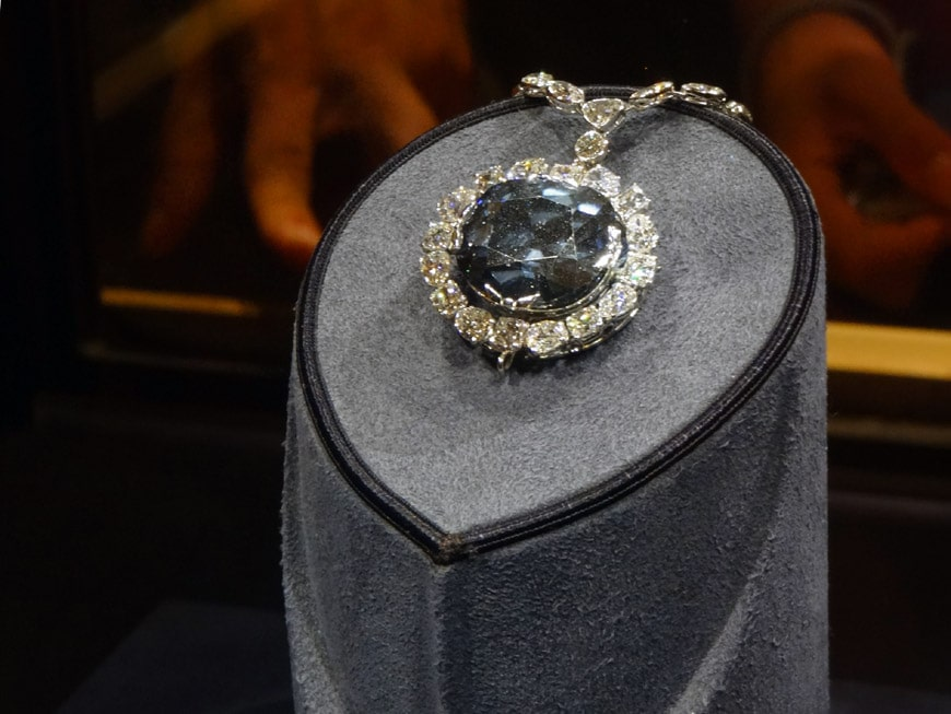 Hope Diamond National Museum of Natural History Washington DC