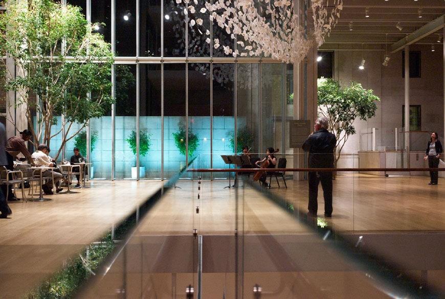 Morgan Library and museum NY lobby