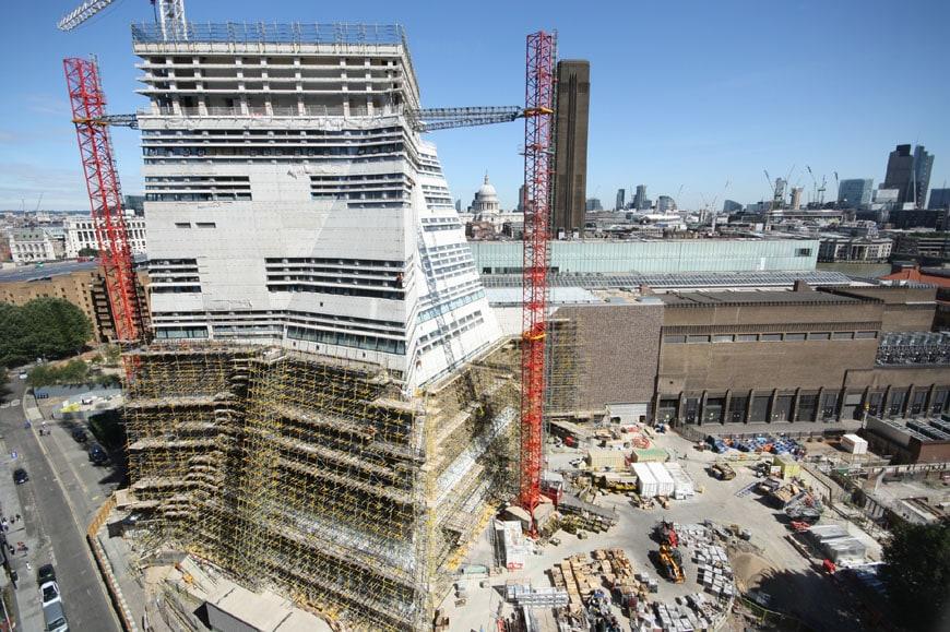 New Tate Modern London Herzog de Meuron