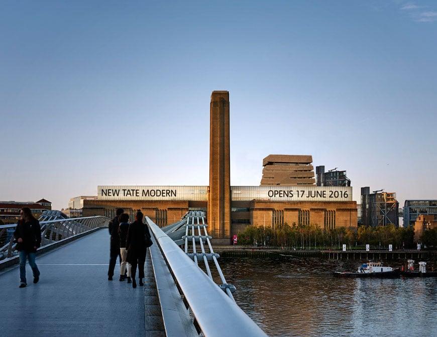New Tate Modern London opening