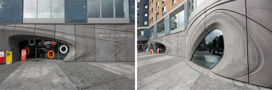 Urban Plunge Exhibition Roca London Gallery Zaha Hadid