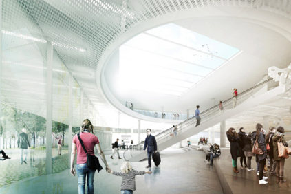 Natural city museum competition in Berlin by AWR