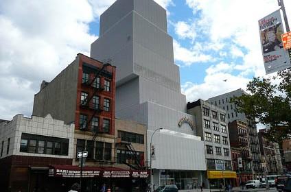 New museum new york museo di arte contemporanea for New york architettura contemporanea
