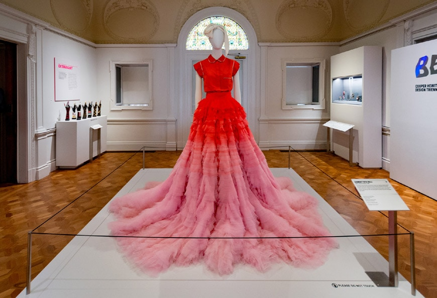 Cooper Hewitt Smithsonian Design Museum New York installation view 3