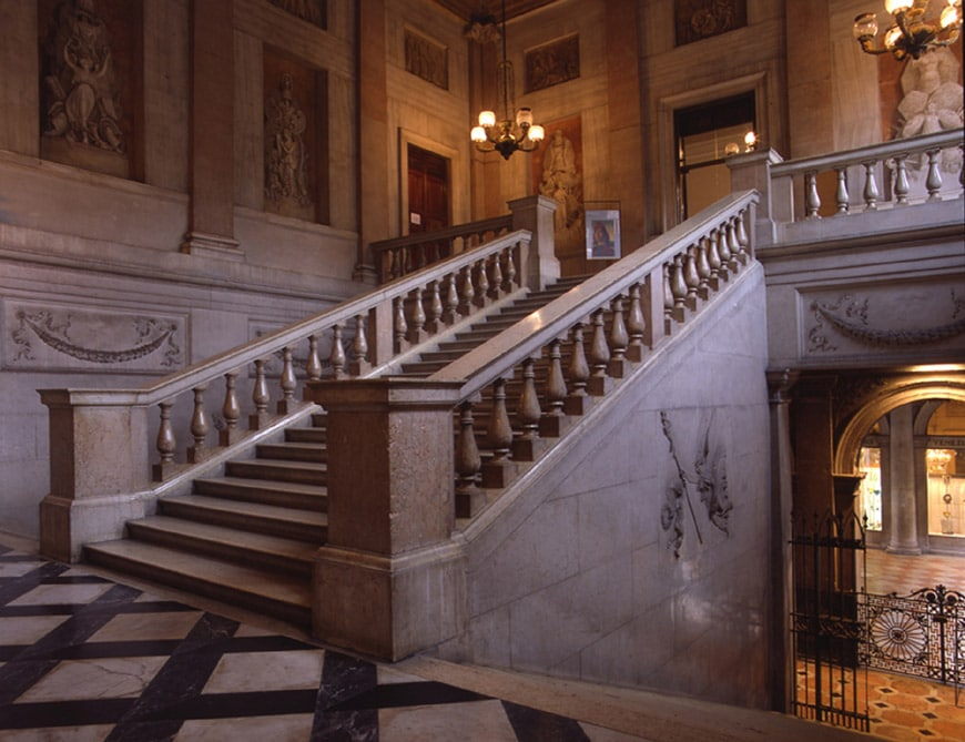 Correr Museum Venice grand staircase