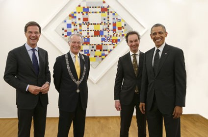 Gemeentemuseum Den Haag The Hague President Obama 04