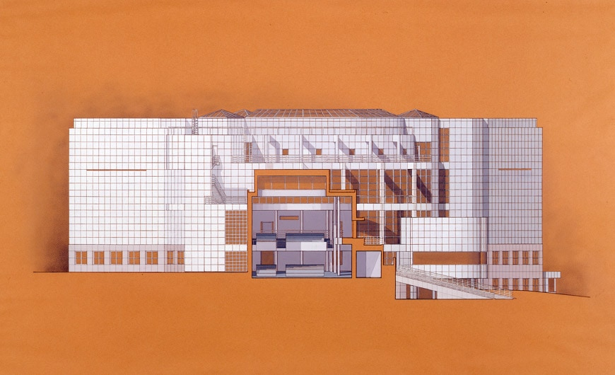High museum of art atlanta georgia for High elevation deck plans