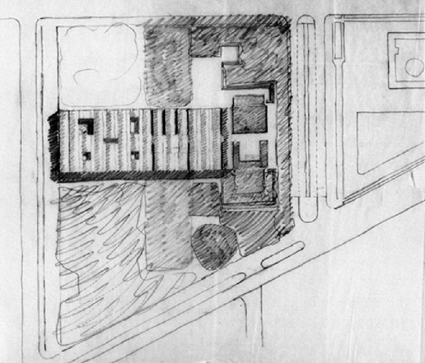 kimbell-museum-fort-worth-louis-kahn-building-roof-plan-sketch-2