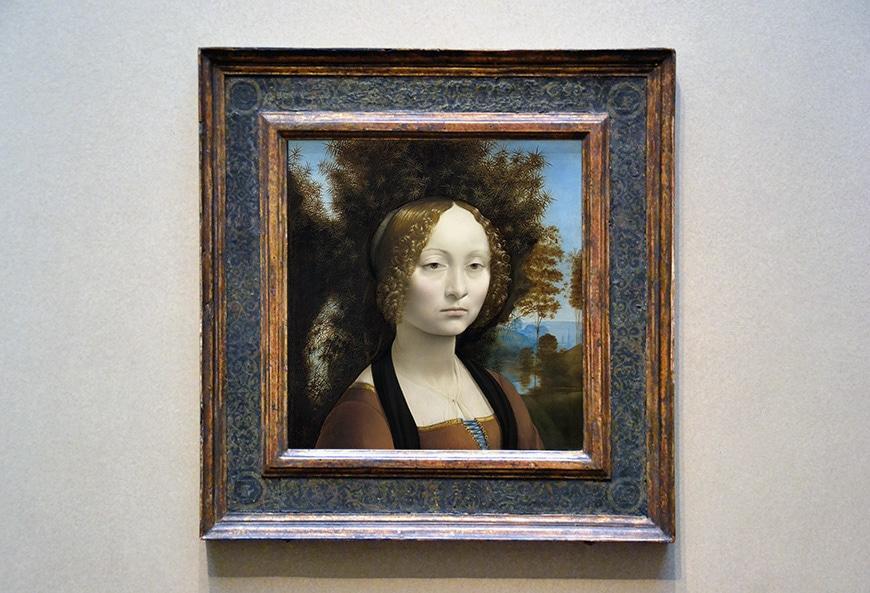 Leonardo da Vinci, Ginevra de Benci,