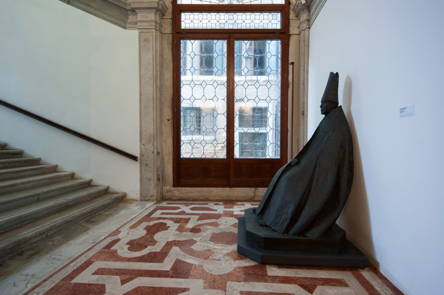 ca pesaro Venice modern art collection Manzu