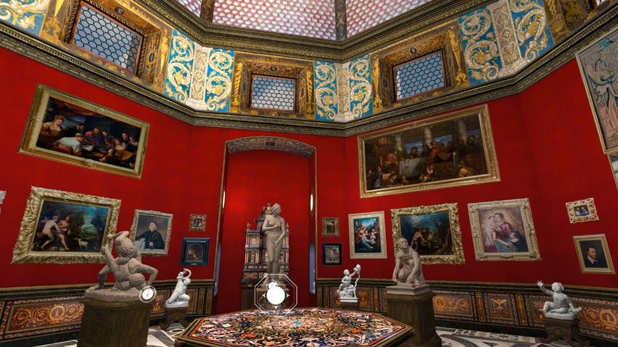 uffizi gallery -multimedia-3D_3