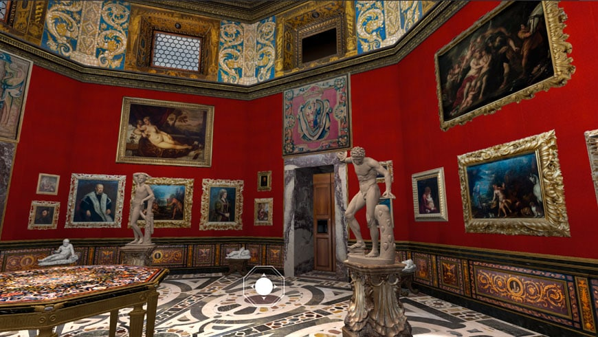 uffizi gallery -multimedia-3D_4