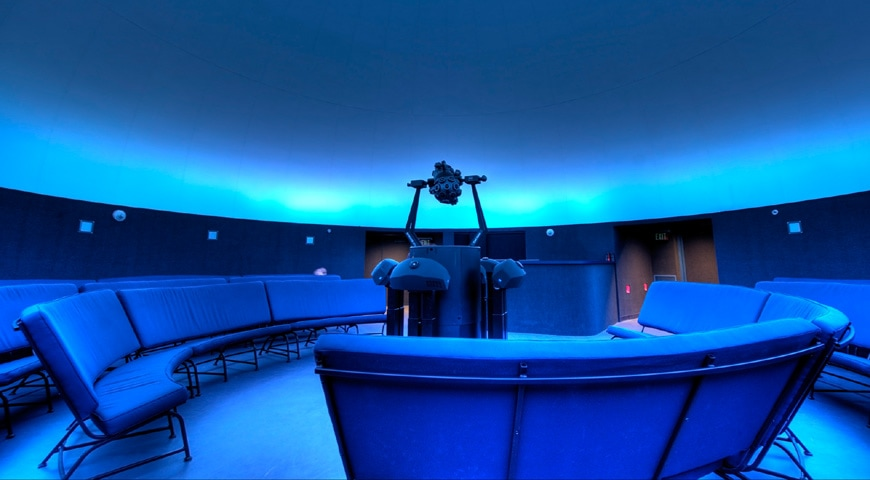 Fort Worth Museum of Science and History planetarium